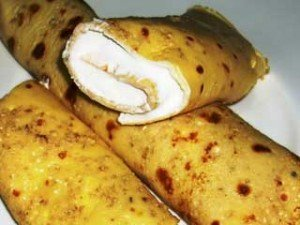 Dukan Diet Recipe: Pancackes Stuffed with Quark